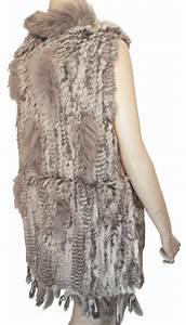 Veste Sans Manche Femme Fourrure : veste fourrure femme sans manche ~ Melissatoandfro.com Idées de Décoration