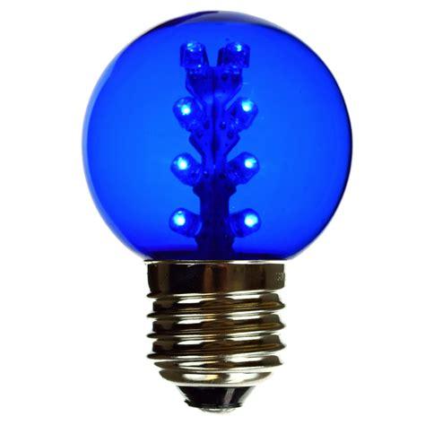 led blue light bulb blue g50 globe light bulb led