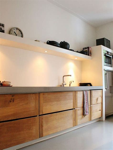 wood kitchen cabinets 21 best concrete benchtops images on live 1138
