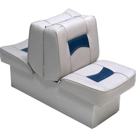 Aftermarket Pontoon Boat Seats by Classic Back To Back Boat Seats Deckmate 174 Boat Seats