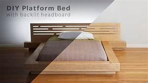 DIY Modern Plywood Platform Bed Part 1 : Frame
