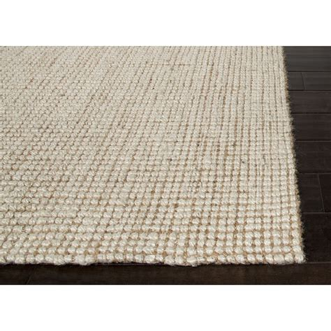 white jute rug jaipur rugs naturals solid pattern ivory white jute area