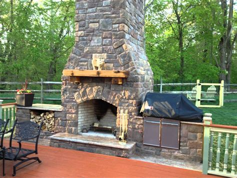 Cool Kitchen Ideas For Small Kitchens - outdoor fireplace and smoker youtube