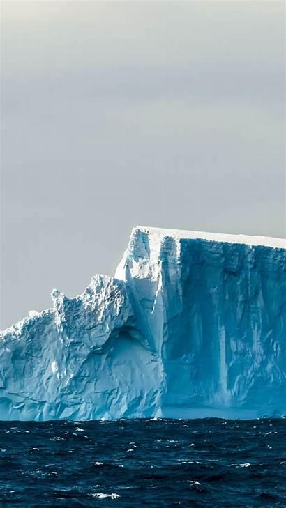 Iceberg Snow Layer Sea Float Wallpapersmug Layers
