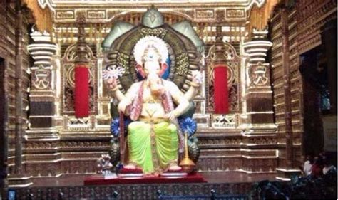 lalbaugcha raja 2017 mumbai s favourite ganpati s revealed before
