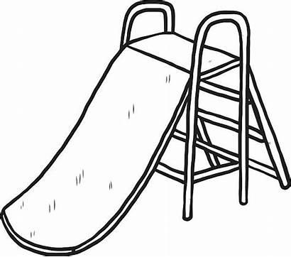 Slide Cartoon Clip Ladder Vector Stair Illustrations