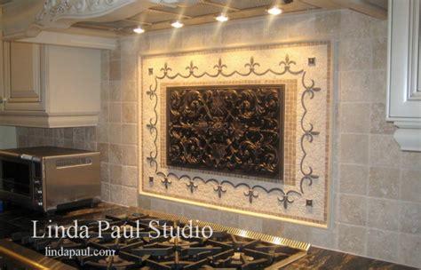 kitchen backsplash medallions kitchen backsplash tile murals by paul studio by