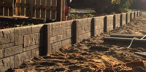manufactured retaining walls panel post retaining wall suppliers retaining perth