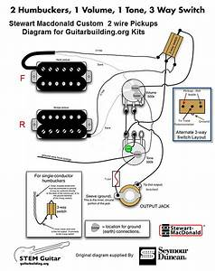 Guitar Wiring Diagram 2 Pickup