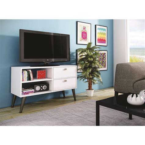 white tv stand with storage manhattan comfort dalarna white storage entertainment 1880
