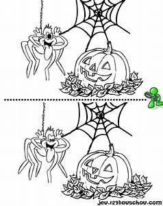 Bricolage Halloween Adulte : jeux des 7 diff rences retrouvez nos coloriages pour enfants activit s ~ Melissatoandfro.com Idées de Décoration