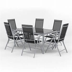 Gartenmöbel Set 6 Stühle : alu sitzgarnitur gartenm bel set 7 teilig garnitur sitzgruppe tisch 150x90 6 st hle m bel24 ~ Bigdaddyawards.com Haus und Dekorationen