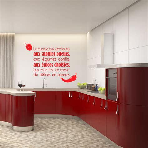la cuisine aux images sticker citation la cuisine aux senteurs stickers