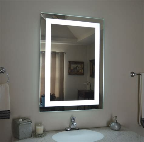 Mirror Bathroom Lights by Lighted Bathroom Vanity Make Up Mirror Led Lighted Wall