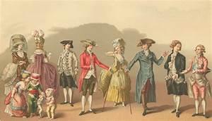 French Fashions 1700 - 1789