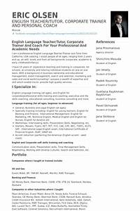 english resume template resume builder With english teacher resume