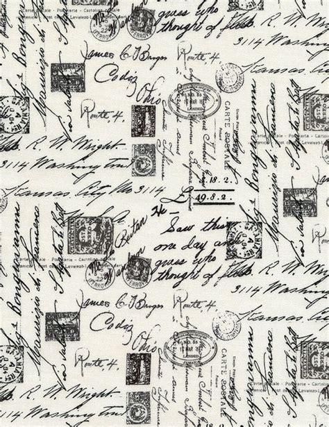 italian script fabric french script writing fabric
