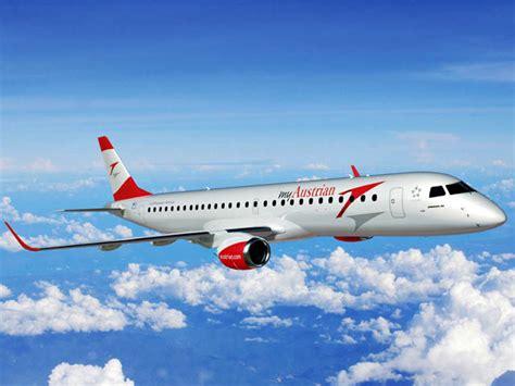 le bewegungsmelder außen austrian airlines prend les embraer 195 de cityline air journal