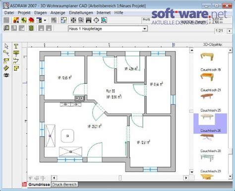 Wohnungsplaner Freeware by 3d Wohnraumplaner Cad Windows Bei