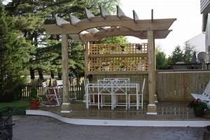 Bar Exterieur Design : 18 belles suggestions de pergola jardin contemporaine ~ Melissatoandfro.com Idées de Décoration