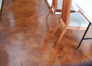 Stain or paint a concrete floor ladulcelavie for Can i paint a concrete floor