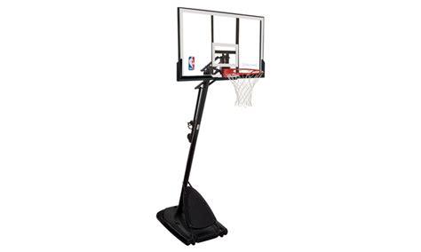 spalding nba basketball hoop groupon goods
