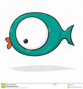 Cute Fish Cartoon Vector Illustration | CartoonDealer.com ...