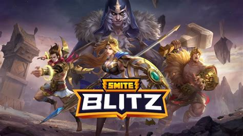 Smite Blitz is an upcoming mobile version of the hit MOBA ...