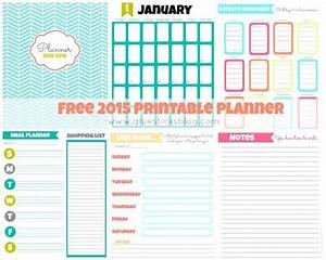 Free Printable 2015 Planner Gluesticks
