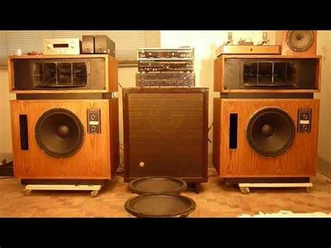 Altec 19 with Marantz MA500.MOV - YouTube