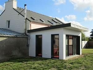 Agrandissement Maison : extension agrandissement maison brest et finist re 29 ~ Nature-et-papiers.com Idées de Décoration