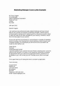 Marketing manager cover letter example hashdoc for Director of marketing cover letter
