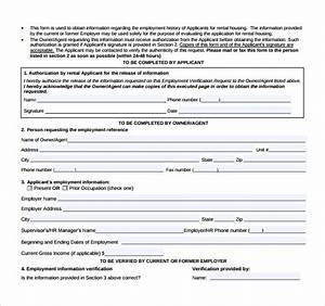 Letter Of Recommendation From Landlord 9 Rental Reference Form Templates To Download Sample