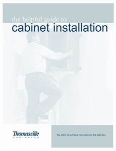 Thomasville Cabinetry Specification Guide