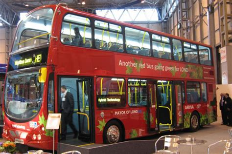 hybrid double decker volvo buses hit london streets
