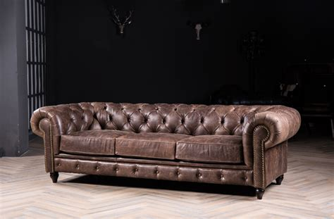 chesterfield vintage sofa chesterfield sofa sofa with vintage leather for