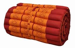 Coussins thailandais matelas tapis canape meditation for Tapis yoga avec canape simon