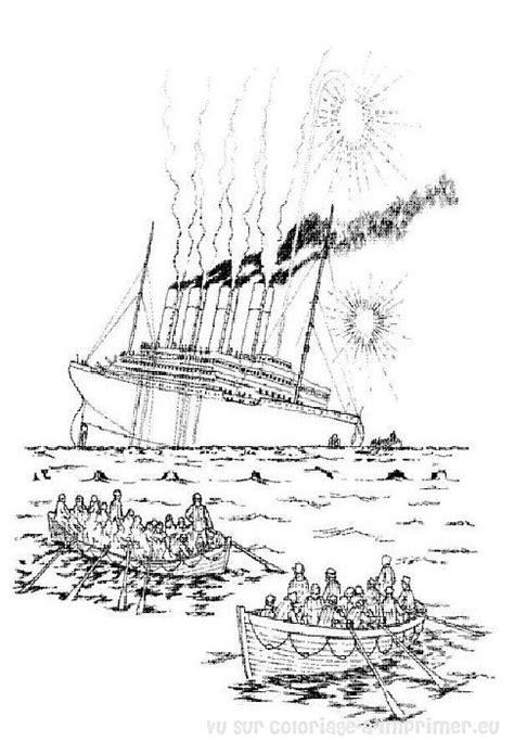 Dessin à Imprimer Bateau Titanic by Coloriage 224 Imprimer Coloriage Titanic 027