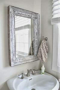 Spiegelschrank Shabby Chic : romanticismo y dulzura en el ba o 50 dise os shabby chic interiores para ba os pinterest ~ Markanthonyermac.com Haus und Dekorationen