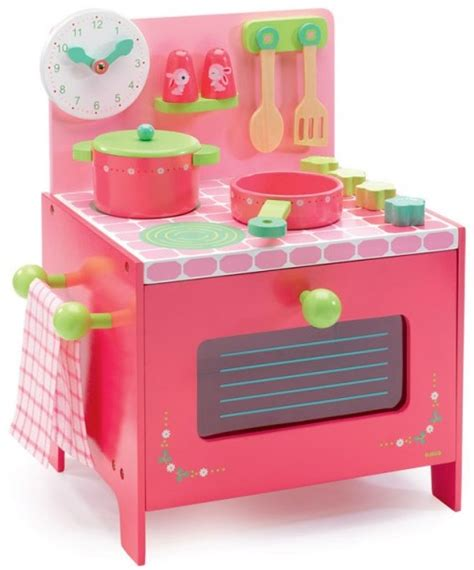 jeu imitation cuisine jouet imitation cuisinière lili en bois accessoires