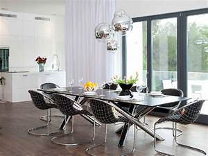 modern dining room lighting fixtures trellischicago With dining room light fixture modern