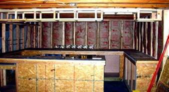 How To Insulate A Concrete Basement Floor by Building A Basement Bar Barplan Com