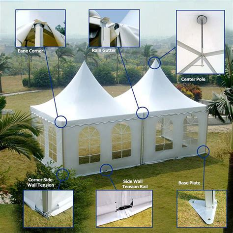 customized garden canopy tent for sale large metal frame