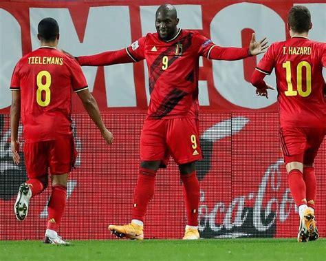 Lukaku scores twice, Belgium reaches Nations League's ...