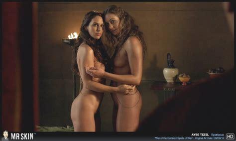 Tv Nudity Report Californication Spartacus Girls Pics