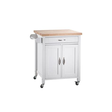 how to organize kitchen cabinets sunjoy alberta white with wood top kitchen cart with 7296