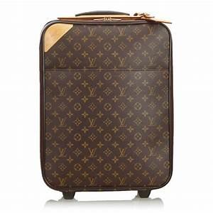 Louis Vuitton Trolley : louis vuitton vintage monogram pegase 45 trolley brown ~ Watch28wear.com Haus und Dekorationen