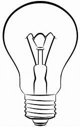 Lamp Bulb Coloring Light Pages Electric Colornimbus sketch template