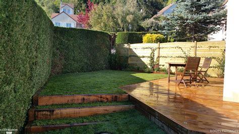 bureau moderne aménagement jardin roots paysages côté maison
