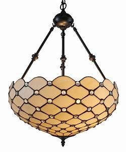 Tiffany, Style, Ceiling, Hanging, Pendant, Lamp, 18